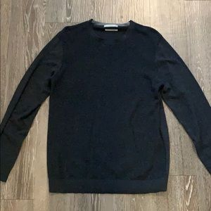 Mango Man Casual Cotton/Cashmere Blend Sweater